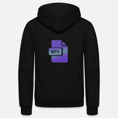 Mp3 mp3 - Unisex Fleece Zip Hoodie