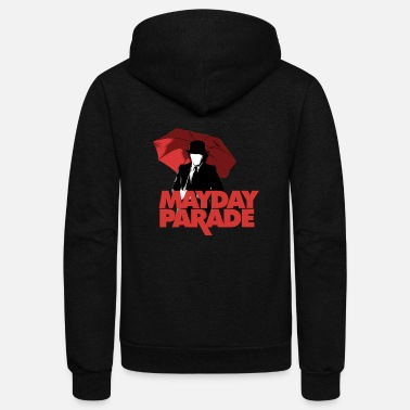 Parade MAYDAY PARADE - Unisex Fleece Zip Hoodie