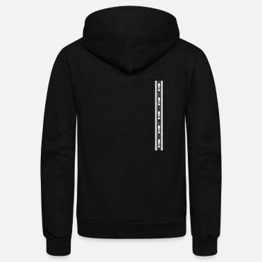 Question Mark Question marks and exclamation marks - Unisex Fleece Zip Hoodie