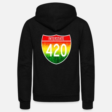 Interstate 420 - Unisex Fleece Zip Hoodie