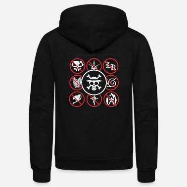 Piece Skull T-shirt for One piece lover - Unisex Fleece Zip Hoodie