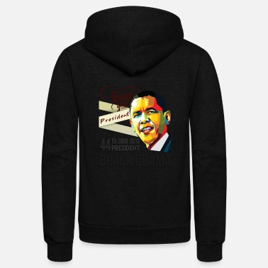 President Obama Thank You President Barack Obama 44th - Unisex Fleece Zip Hoodie