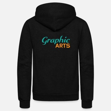 Graphic Art Graphic Arts - Unisex Fleece Zip Hoodie