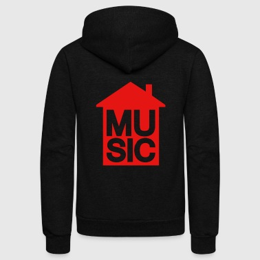 House Music - House Music - Unisex Fleece Zip Hoodie