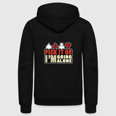 Playing Cards Shirt - Gift - Unisex Fleece Zip Hoodie