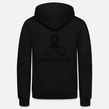 Addicted Addicted - Unisex Fleece Zip Hoodie