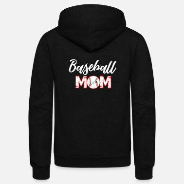 Baseball Mom baseball mom - Unisex Fleece Zip Hoodie