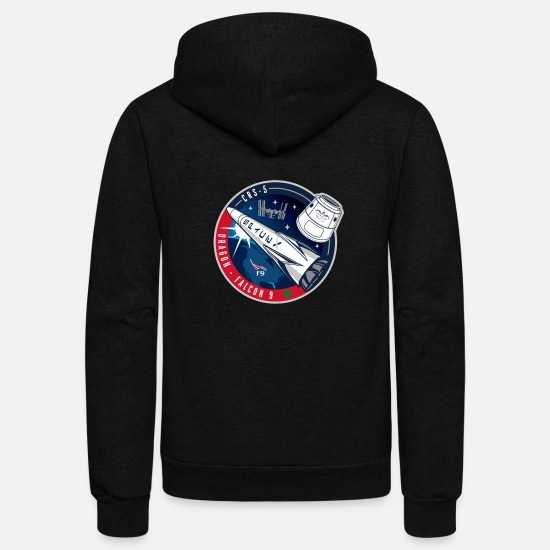 Heavy Hoodies & Sweatshirts - occupy mars - Unisex Fleece Zip Hoodie black