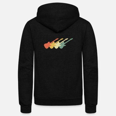 Eguitar Eguitar 70s Retro Look - Unisex Fleece Zip Hoodie