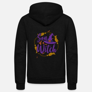 Witch Son of a Witch - Unisex Fleece Zip Hoodie
