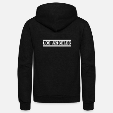 Los Angeles Los Angeles - Total Basics - Unisex Fleece Zip Hoodie