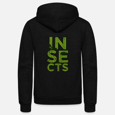 Insect Insects - Unisex Fleece Zip Hoodie