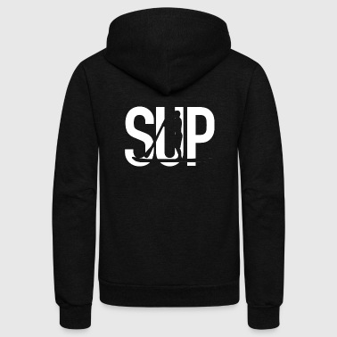 Board SUP - Stand Up Paddling - Unisex Fleece Zip Hoodie