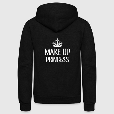 Makeup Makeup Princess - Makeup - Total Basics - Unisex Fleece Zip Hoodie