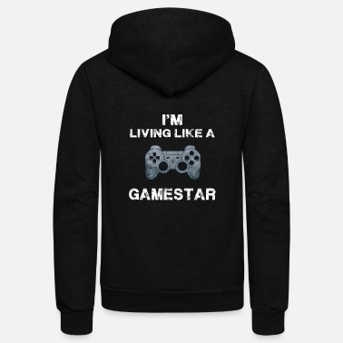 Video funny video games shirt - Unisex Fleece Zip Hoodie