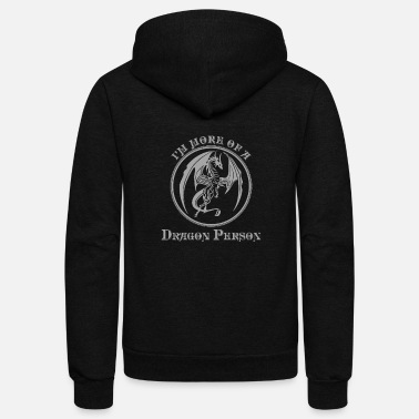 Creature Dragon Mythical Creature Mythology Gift - Unisex Fleece Zip Hoodie