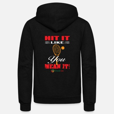 Hits Hit It - Unisex Fleece Zip Hoodie