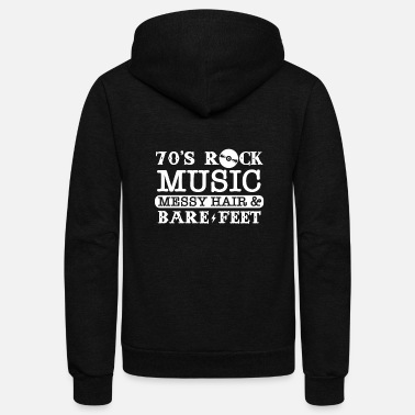 Rock Music Rock Music - Unisex Fleece Zip Hoodie
