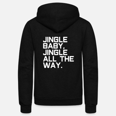 Santa Claus Jingle Santa Claus Santa Claus - Unisex Fleece Zip Hoodie