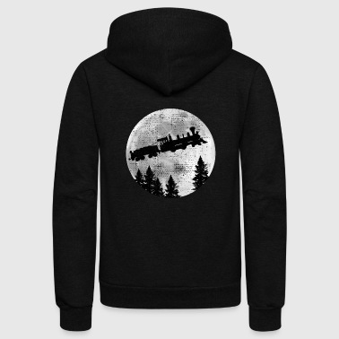 steam locomotive - Unisex Fleece Zip Hoodie