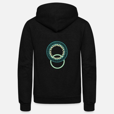 Circle Circles - Unisex Fleece Zip Hoodie