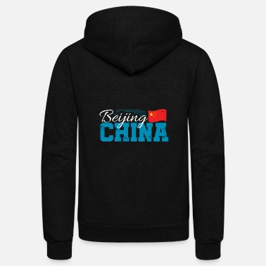 Cultural Capital Beijing China Chinese Asia City Capital - Unisex Fleece Zip Hoodie