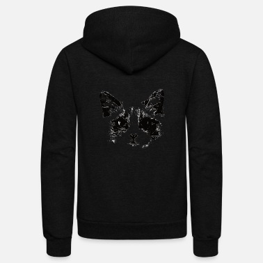 Lilac Ragdoll Cat Design - A Ragdoll Mom Gift - Unisex Fleece Zip Hoodie