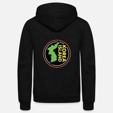 Korea Capital North Korea South Korea Korea Gift Asia - Unisex Fleece Zip Hoodie