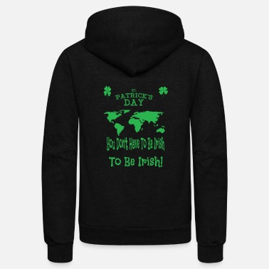 Day St. Patricks Day - Unisex Fleece Zip Hoodie