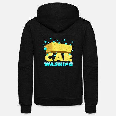 Wash Car Washing - Unisex Fleece Zip Hoodie