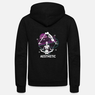 Aesthetics Aesthetic Yoga - Unisex Fleece Zip Hoodie