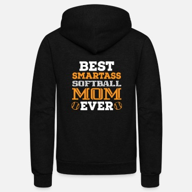 Ball Sport Best smart mother - Unisex Fleece Zip Hoodie