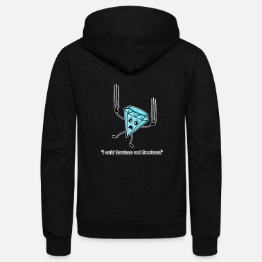 Poor Funny Flawless Diamond Pun Kawaii Diamond Graphic - Unisex Fleece Zip Hoodie