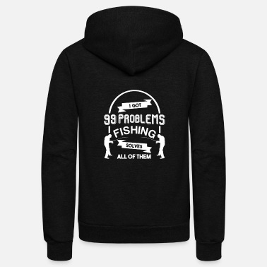 Carp Fishing - Unisex Fleece Zip Hoodie