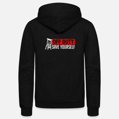Lifeguard Lifeguard Swimmer - Unisex Fleece Zip Hoodie