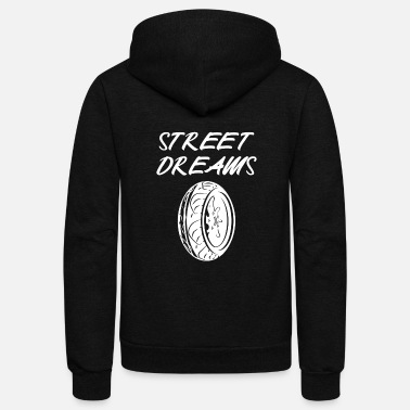 Drive Go By Car Sports Car Motorcycle Mechanic Racing Tuning Speed - Unisex Fleece Zip Hoodie