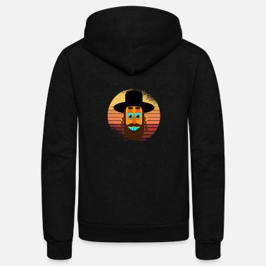 Rabbi Retro - Unisex Fleece Zip Hoodie
