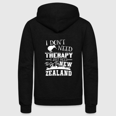 New Zealand Therapy Shirt - Unisex Fleece Zip Hoodie