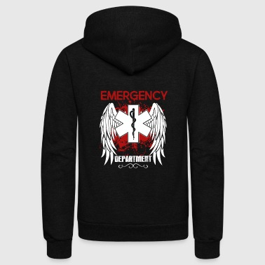 Emergency Department Shirt - Unisex Fleece Zip Hoodie