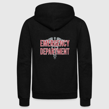 Emergency Department T Shirt - Unisex Fleece Zip Hoodie