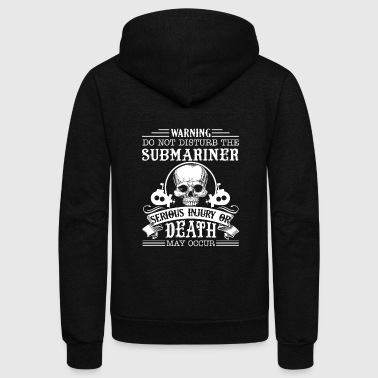 Submarine Submariner Tee Shirt - Unisex Fleece Zip Hoodie
