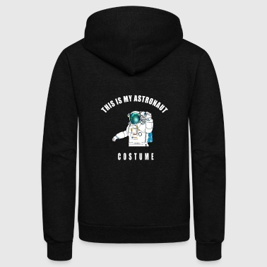 costume astronaut sci-fi space - Unisex Fleece Zip Hoodie