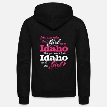 Idaho This Girl Love Idaho - Unisex Fleece Zip Hoodie