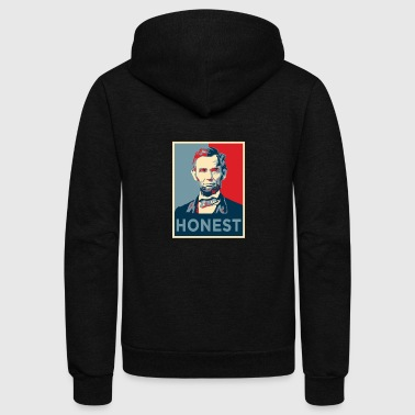 Honest Abe - Unisex Fleece Zip Hoodie