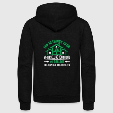 Top 10 Thing To Do When Selling Your Home Funny R - Unisex Fleece Zip Hoodie