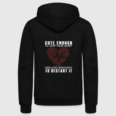 Gift For Girlfriend, Gift For Her, Gift Girl Sweatshirt, Zip Sweatshirt, Octopus Shirt