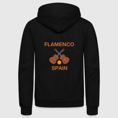 Flamenco flamenco spain - Unisex Fleece Zip Hoodie