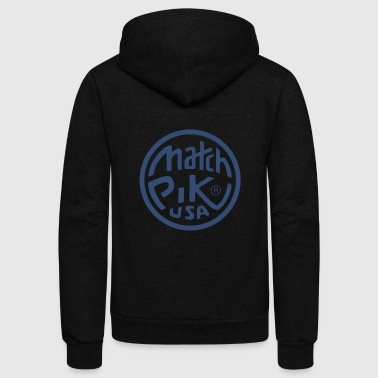 Match Pik USA - Unisex Fleece Zip Hoodie
