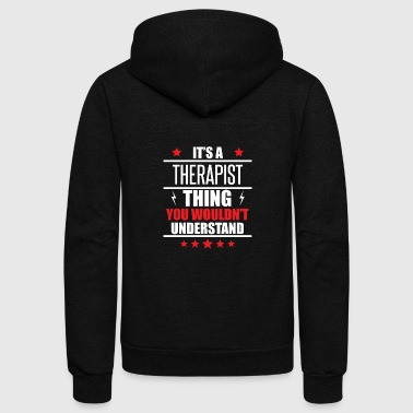 It's A Therapist Thing - Unisex Fleece Zip Hoodie