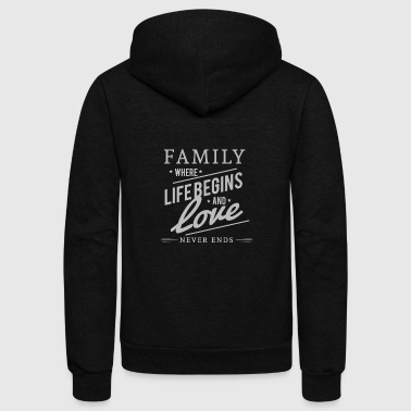 Family FAMILY MATTERS - Unisex Fleece Zip Hoodie